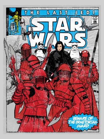 The Last Jedi Comic Book Cover