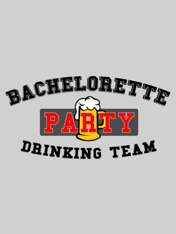 Ticou Bachelorette Party Drinking Team
