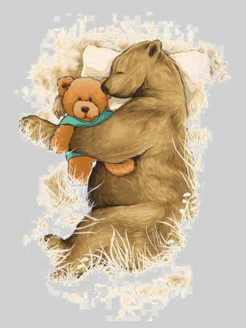 BFF Bear friends forever