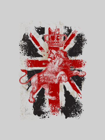 Union Jack Lion UK