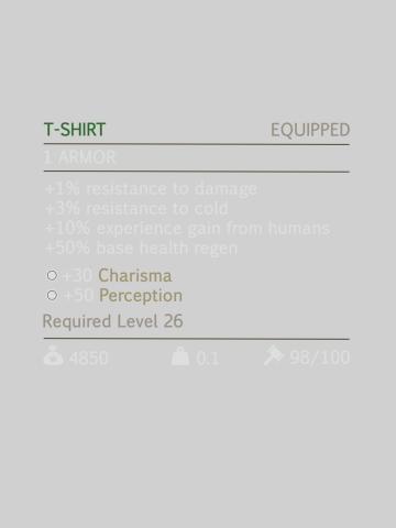 Tshit item
