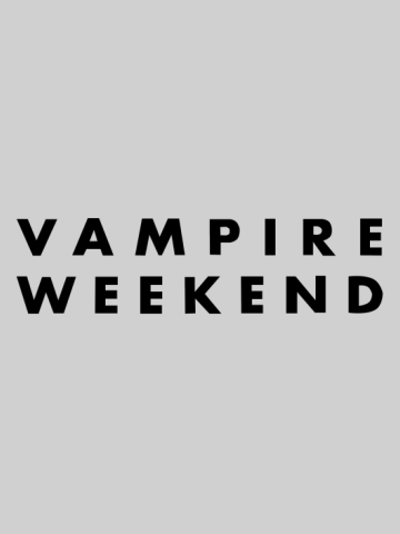 Vampire Weekend -Logo