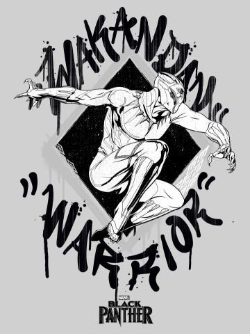 Wakandan Warrior