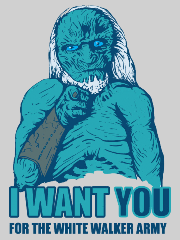 White walker service - Game of Thrones