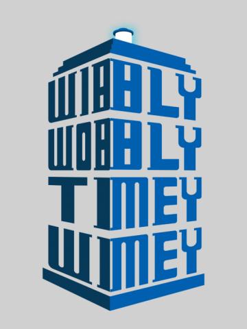 Wibbly Wobbly Timey Wimey - Doctor Who