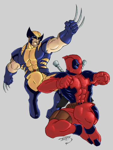 Wolverine and Deadpool Team-Up