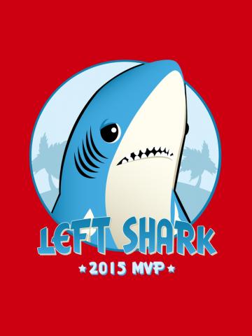 2015 MVP - Left Shark