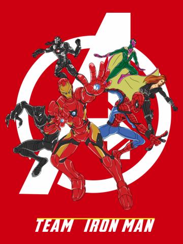 Civil War- Team Iron Man