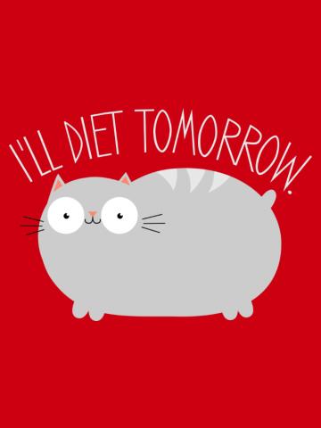 Diet tommorow - cat