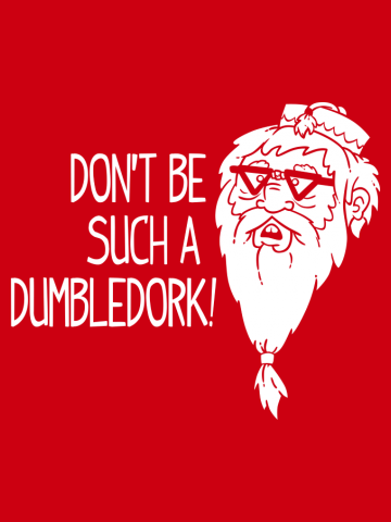 Don't be such a Dumbledork