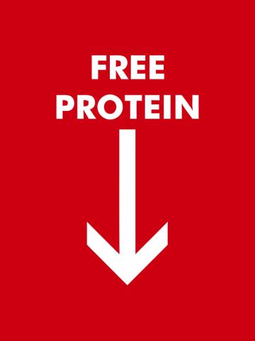 Free protein