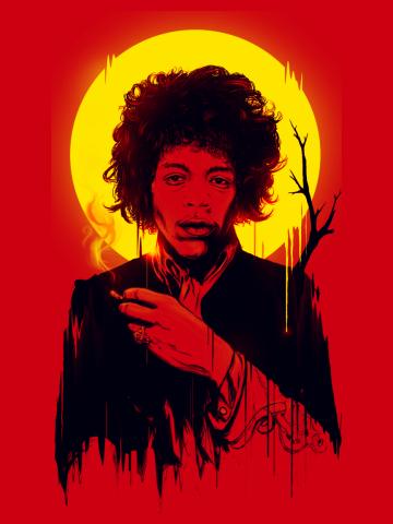 Jimi Hendrix ALT-0
