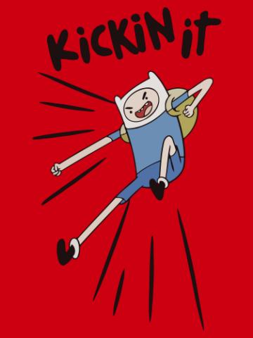 Kickin Adventure Time