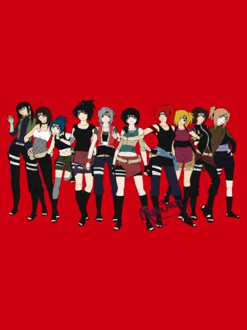 Kunoichi Lineup
