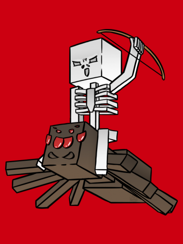 Minecraft Spider Jockey
