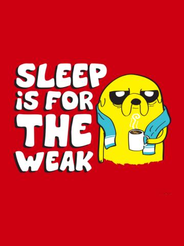 No Sleep Adventure Time