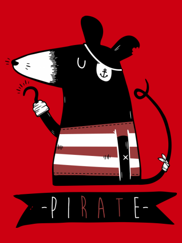 Pirate Rat
