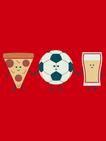 Pizza Football and Beer - BFF