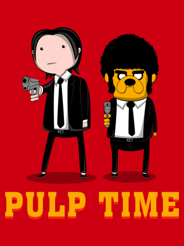 Pulp Fiction Time - Adventure Time