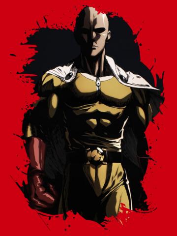 Saitama Sensei One Punch Man - Art drawing