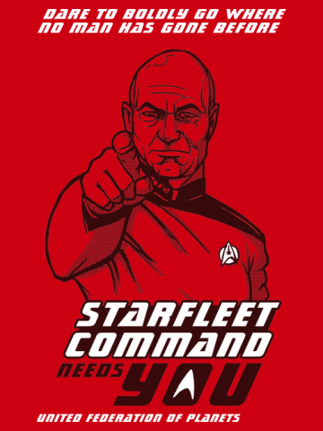 Starfleet Command Wants You