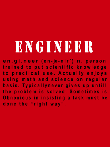 Engineer  right way