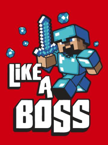 Like a boss Minecraft