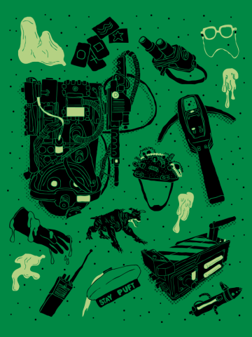 Artifacts: Ghostbusters