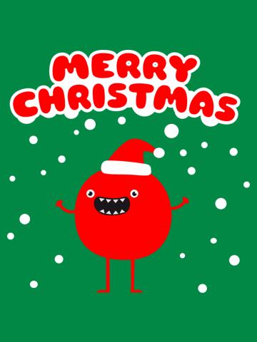 Funny Santa Claus - Merry Christmas
