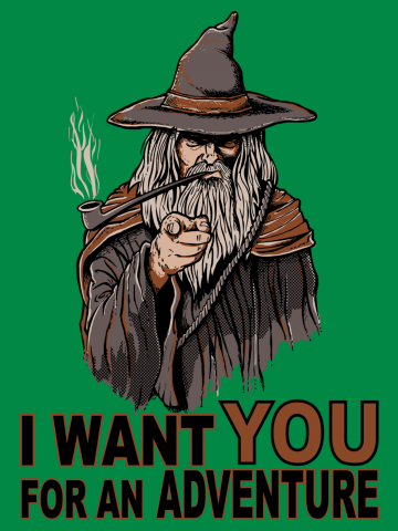 I want you for an adventure - The Hobbit