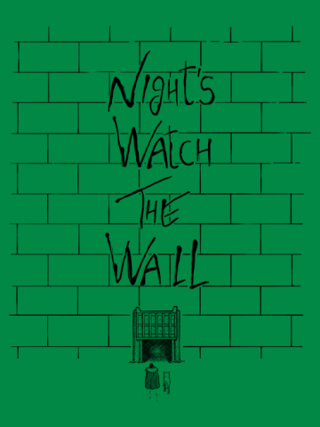 Night watch The Wall - Game of Thrones