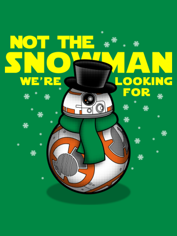 Not the snowman we're looking for