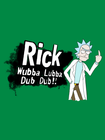 Rick has enter the battle