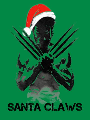 Santa Claws Wolverine