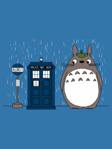 Allons-y Totoro