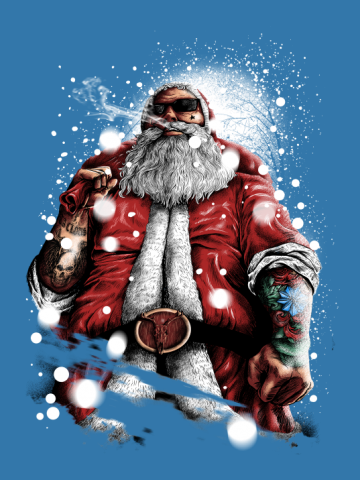 Bad Ass Santa Claus