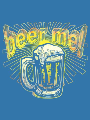 Beer Me Tie Dye Pint