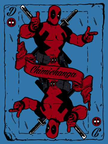 Chimichanga card