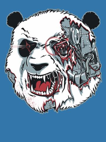 Cyborg Panda