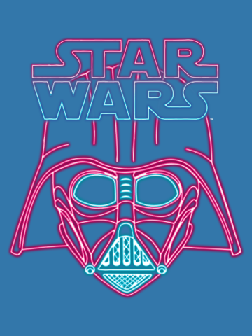 Darth Vader Neon Sign