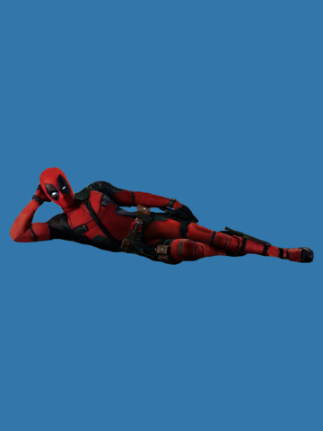 Deadpool Ryan Reynolds Sexy Pose