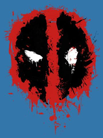 Deadpool Splatter Icon