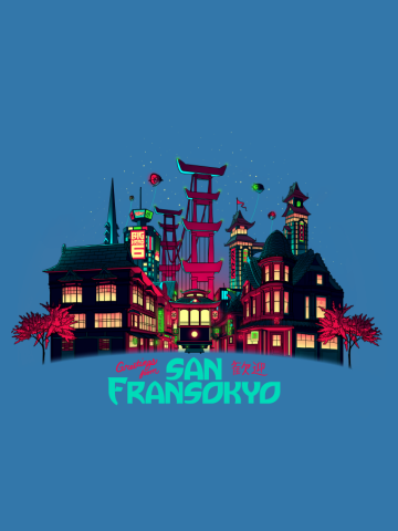 Greetings from San Fransokyo