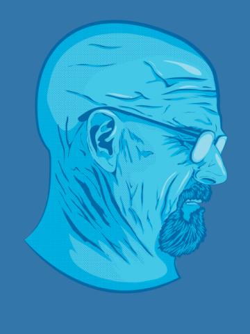 Heisenberg - Crystal Blue Face