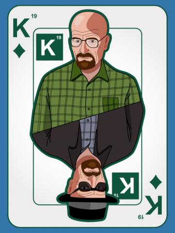Heisenberg on a poker card