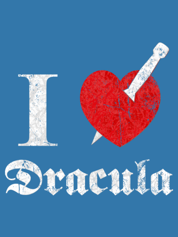 I love (to kill) Dracula (whiteeroded)