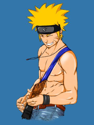 Naruto guitarist