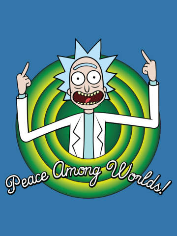 Peace among worlds, folks