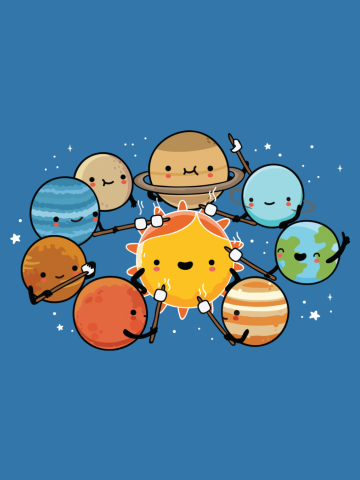 Planets camping