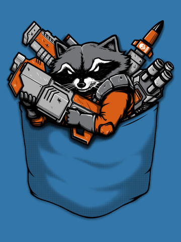 Pocket Battle Raccoon